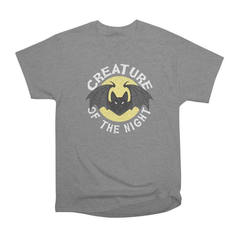 Creature of the night Women's Heavyweight Unisex T-Shirt by Ninth Street Design's Artist Shop