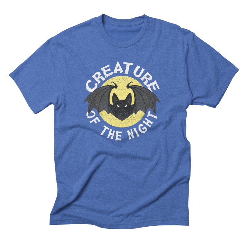 Creature of the night Men's Triblend T-Shirt by Ninth Street Design's Artist Shop