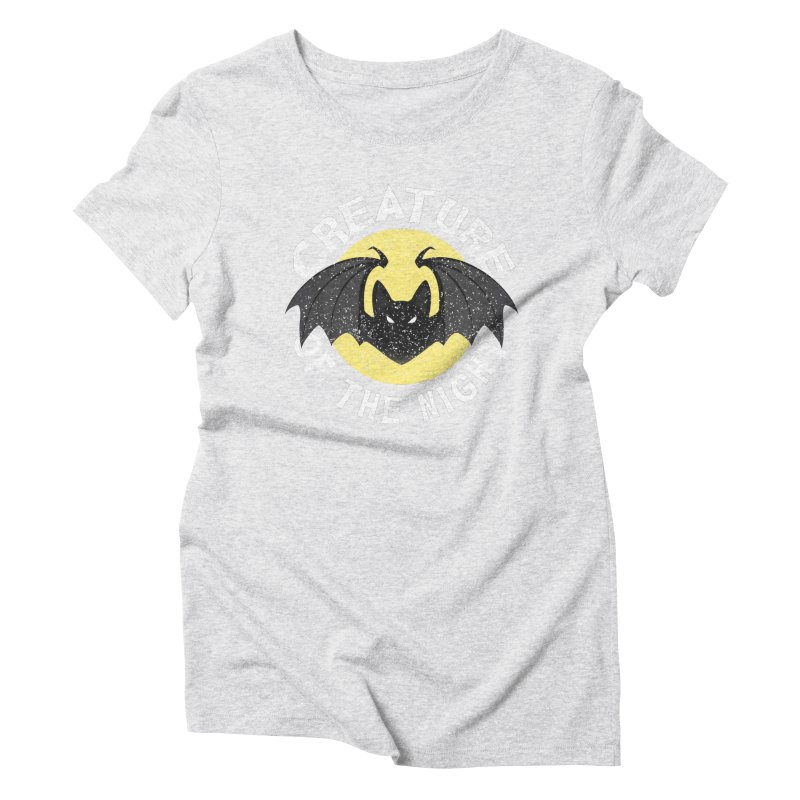 Creature of the night Women's Triblend T-Shirt by Ninth Street Design's Artist Shop