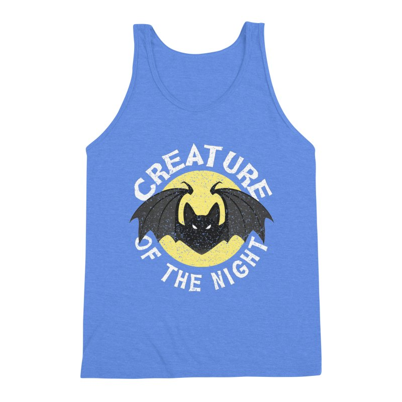 Creature of the night Men's Triblend Tank by Ninth Street Design's Artist Shop