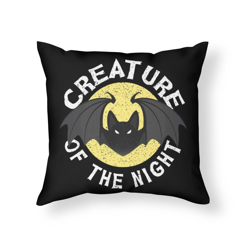 Creature of the night Home Throw Pillow by Ninth Street Design's Artist Shop