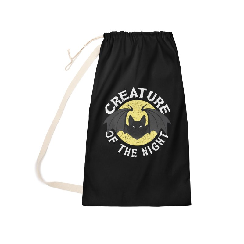 Creature of the night Accessories Laundry Bag Bag by Ninth Street Design's Artist Shop