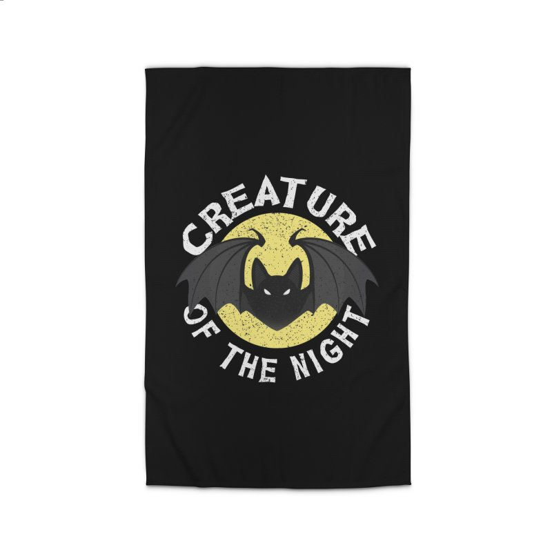 Creature of the night Home Rug by Ninth Street Design's Artist Shop