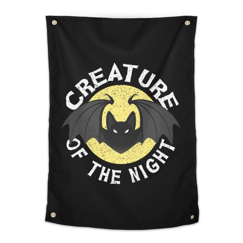 Creature of the night Home Tapestry by Ninth Street Design's Artist Shop
