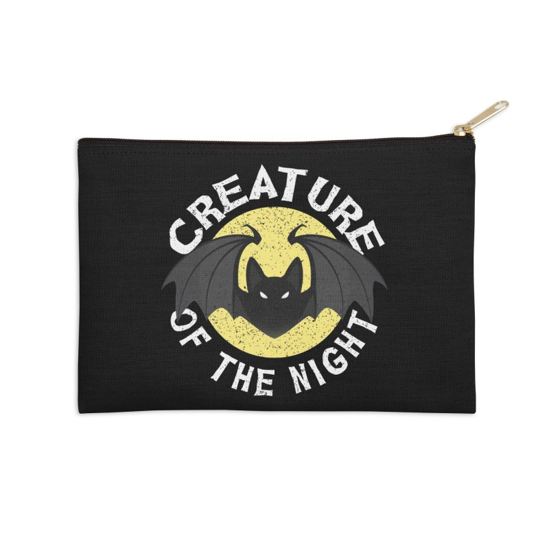 Creature of the night Accessories Zip Pouch by Ninth Street Design's Artist Shop