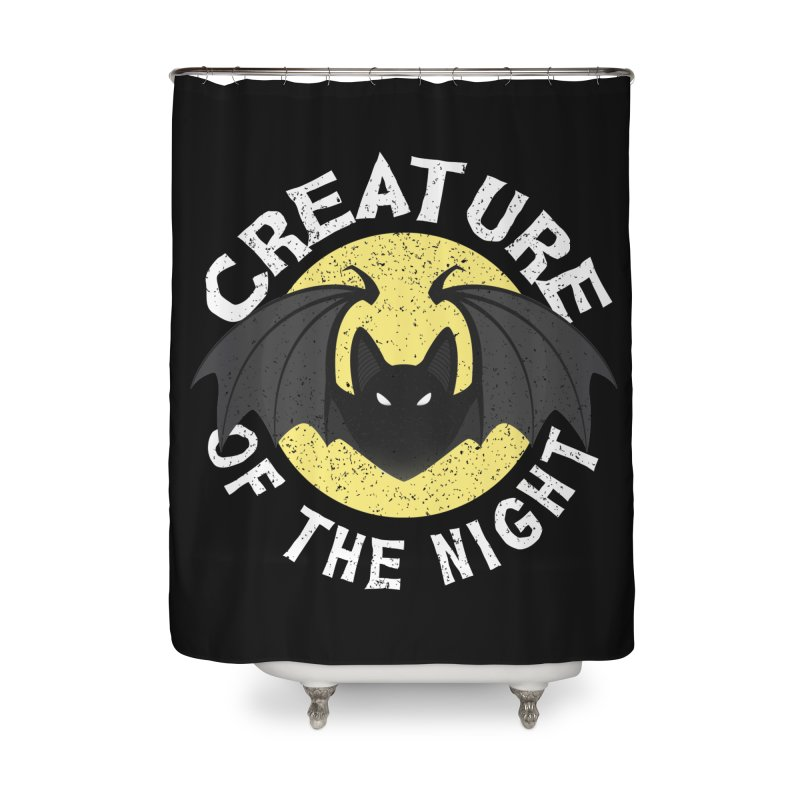 Creature of the night Home Shower Curtain by Ninth Street Design's Artist Shop