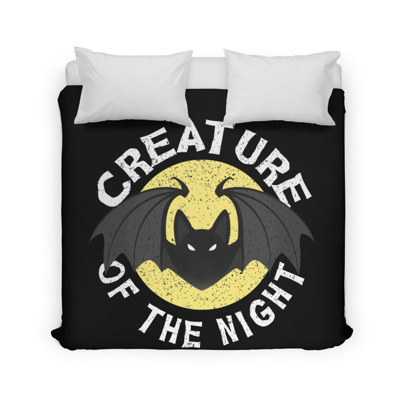 Creature of the night Home Duvet by Ninth Street Design's Artist Shop