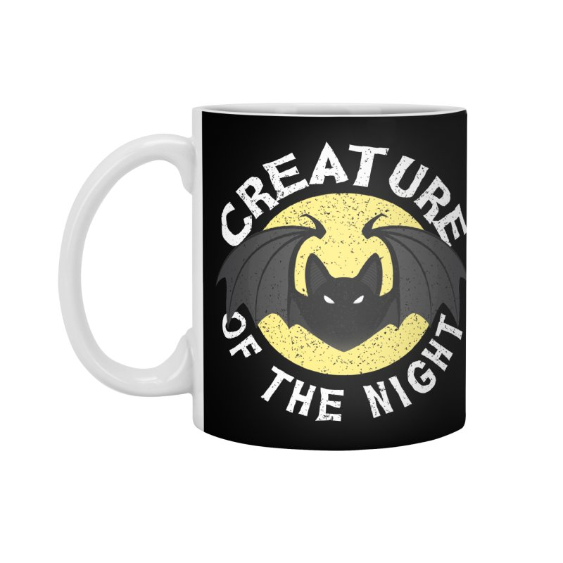 Creature of the night Accessories Standard Mug by Ninth Street Design's Artist Shop