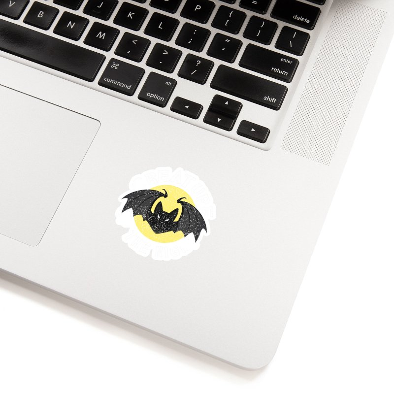 Creature of the night Accessories Sticker by Ninth Street Design's Artist Shop