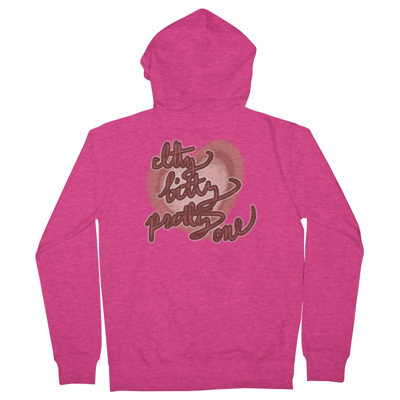 Itty Bitty Pretty One Women's Zip-Up Hoody by nireleetsac's Artist Shop