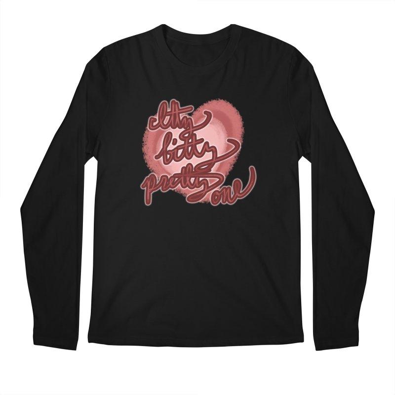 Itty Bitty Pretty One Men's Longsleeve T-Shirt by nireleetsac's Artist Shop