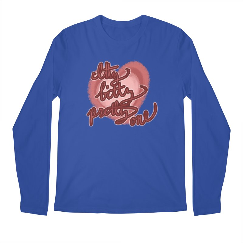Itty Bitty Pretty One Men's Longsleeve T-Shirt by nireleetsac's Artist Shop