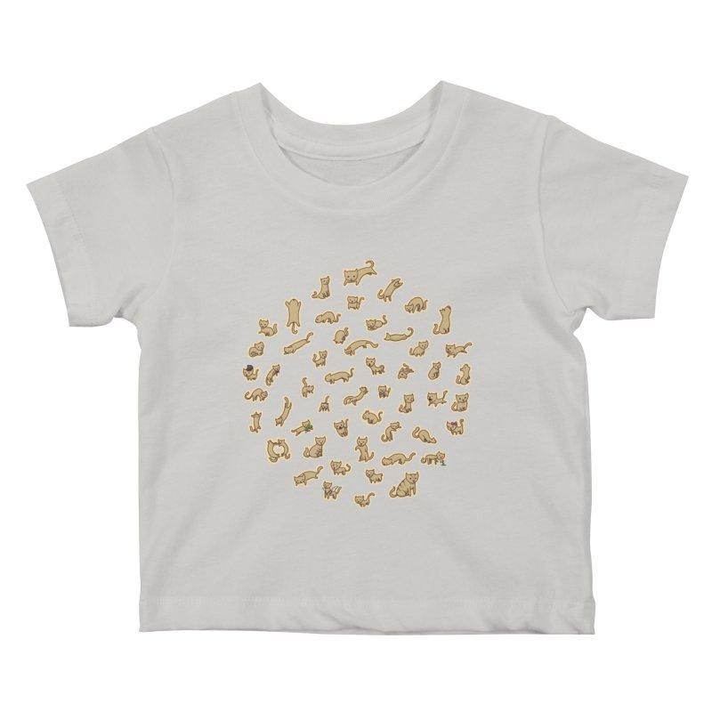 CATS Kids Baby T-Shirt by nireleetsac's Artist Shop