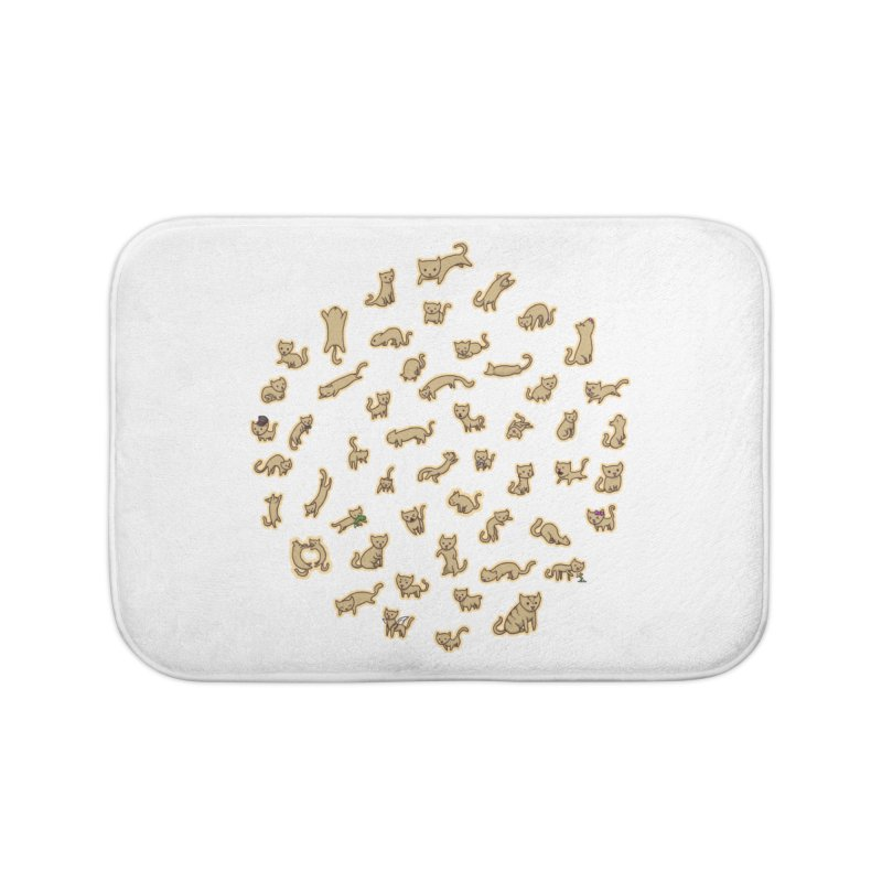 CATS Home Bath Mat by nireleetsac's Artist Shop