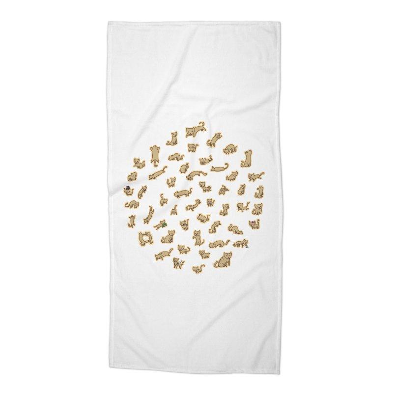CATS Accessories Beach Towel by nireleetsac's Artist Shop