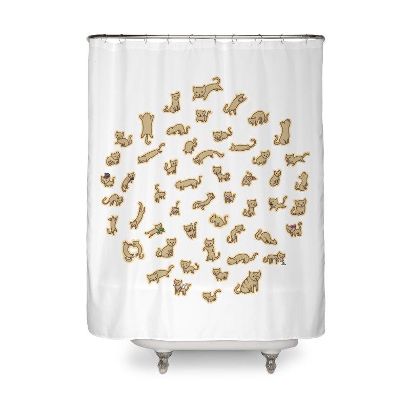 CATS Home Shower Curtain by nireleetsac's Artist Shop