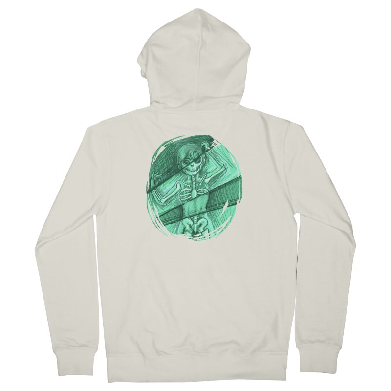 Strange X-ray Women's Zip-Up Hoody by nireleetsac's Artist Shop