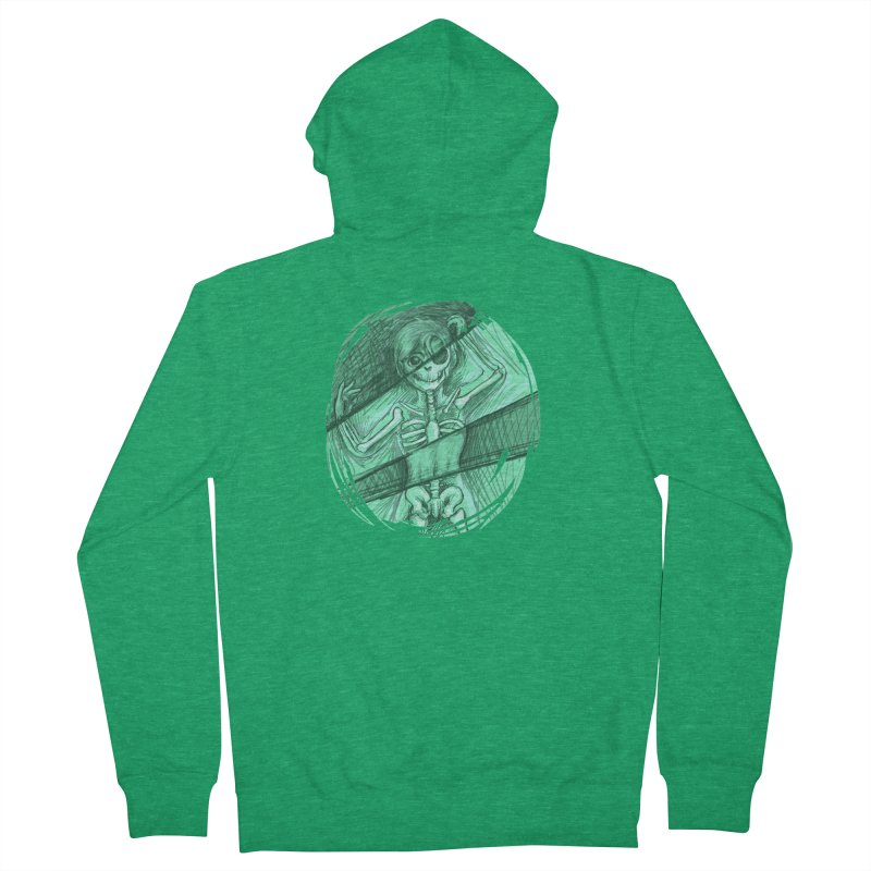 Strange X-ray Men's Zip-Up Hoody by nireleetsac's Artist Shop