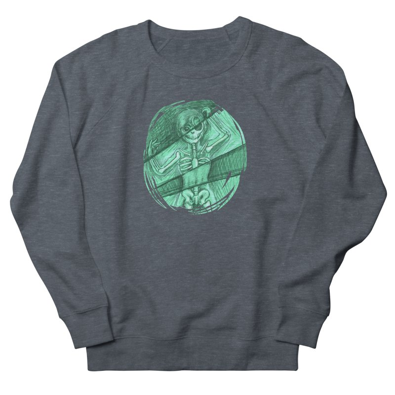 Strange X-ray Women's French Terry Sweatshirt by nireleetsac's Artist Shop