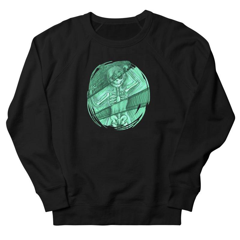 Strange X-ray Men's French Terry Sweatshirt by nireleetsac's Artist Shop