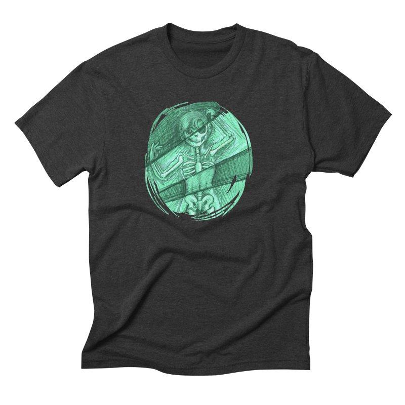 Strange X-ray Men's Triblend T-Shirt by nireleetsac's Artist Shop