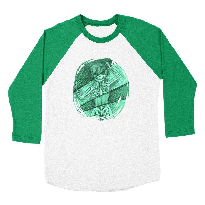 Strange X-ray Women's Baseball Triblend T-Shirt by nireleetsac's Artist Shop