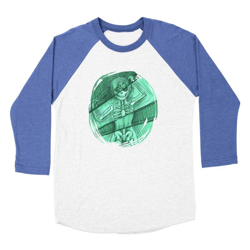 Strange X-ray Men's Baseball Triblend T-Shirt by nireleetsac's Artist Shop