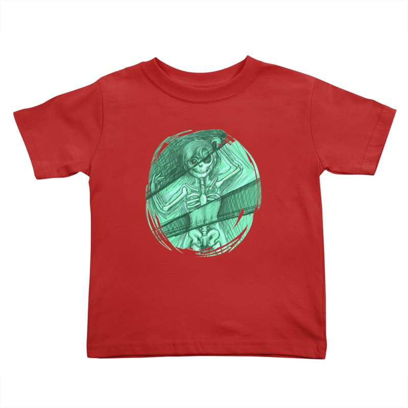 Strange X-ray Kids Toddler T-Shirt by nireleetsac's Artist Shop