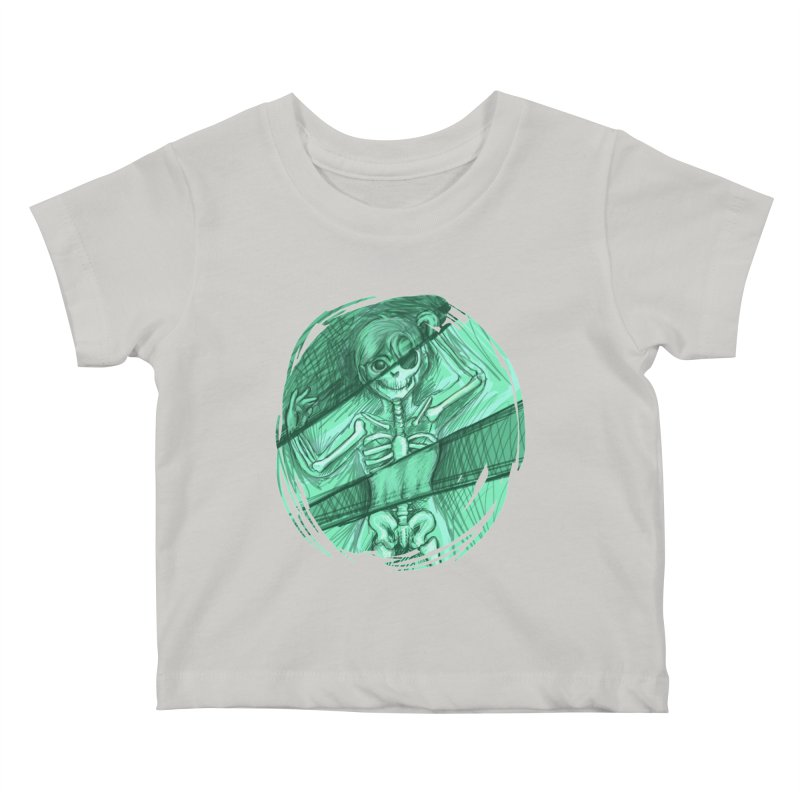 Strange X-ray Kids Baby T-Shirt by nireleetsac's Artist Shop