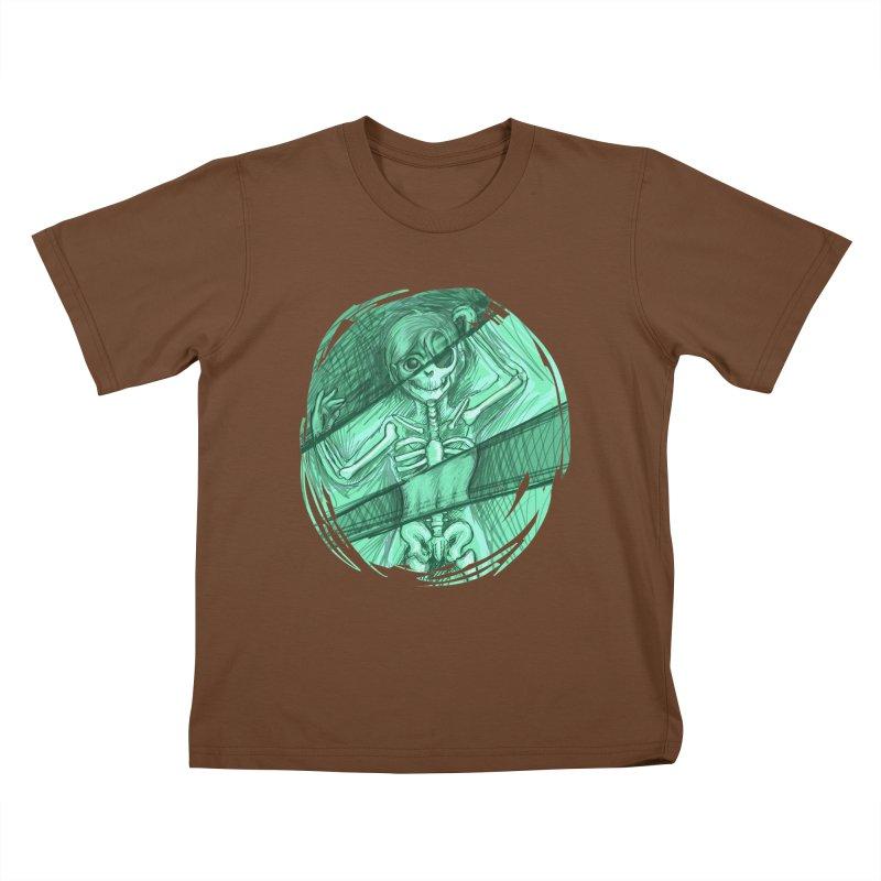 Strange X-ray Kids T-Shirt by nireleetsac's Artist Shop