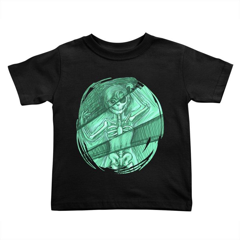 Strange X-ray Kids Toddler T-Shirt by nireleetsac's Artist Shop