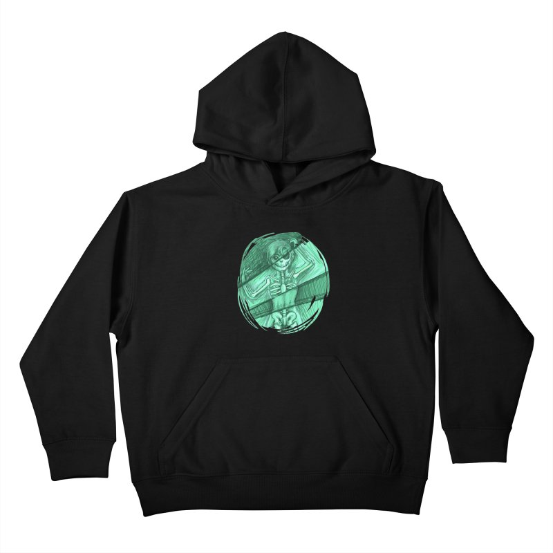 Strange X-ray Kids Pullover Hoody by nireleetsac's Artist Shop