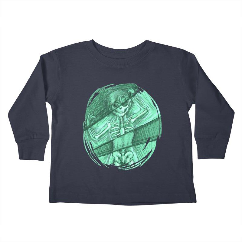 Strange X-ray Kids Toddler Longsleeve T-Shirt by nireleetsac's Artist Shop