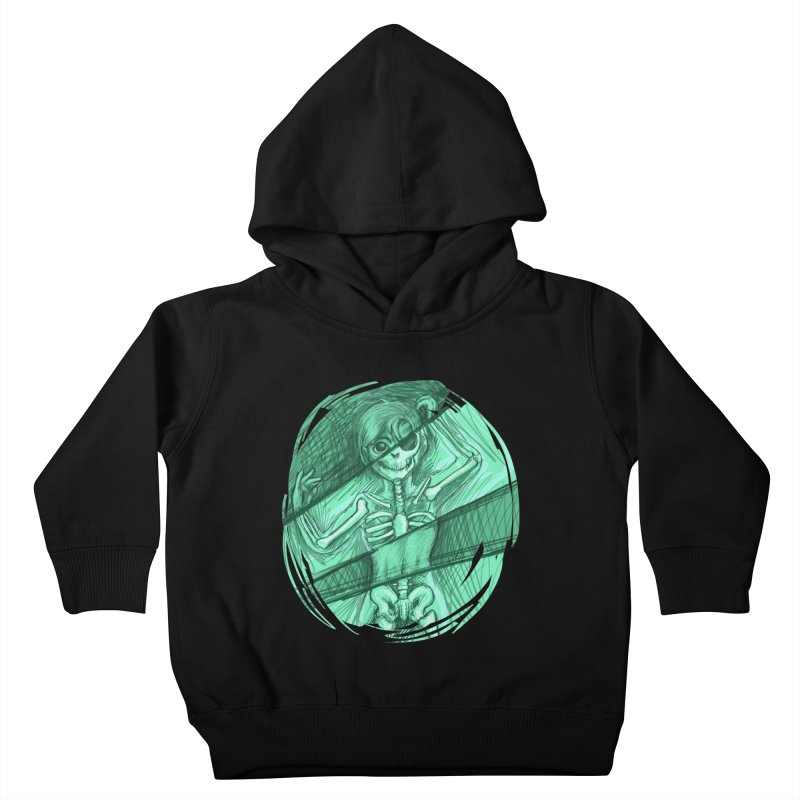 Strange X-ray Kids Toddler Pullover Hoody by nireleetsac's Artist Shop