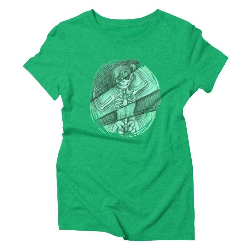 Strange X-ray Women's Triblend T-Shirt by nireleetsac's Artist Shop