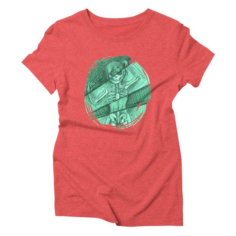 Strange X-ray Women's Triblend T-Shirt by nireleetsac's Artist Shop