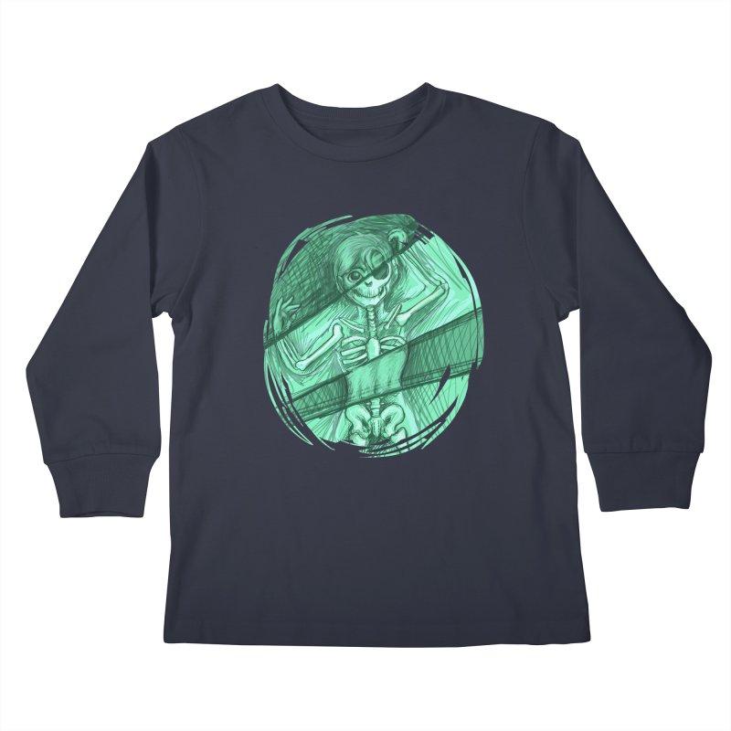 Strange X-ray Kids Longsleeve T-Shirt by nireleetsac's Artist Shop
