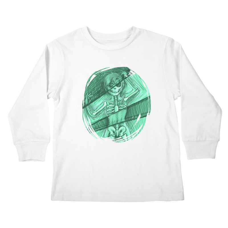 Strange X-ray Kids Longsleeve T-Shirt by nireleetsac's Artist Shop