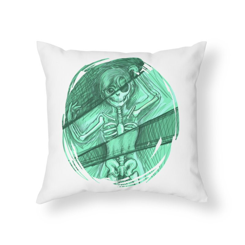 Strange X-ray Home Throw Pillow by nireleetsac's Artist Shop