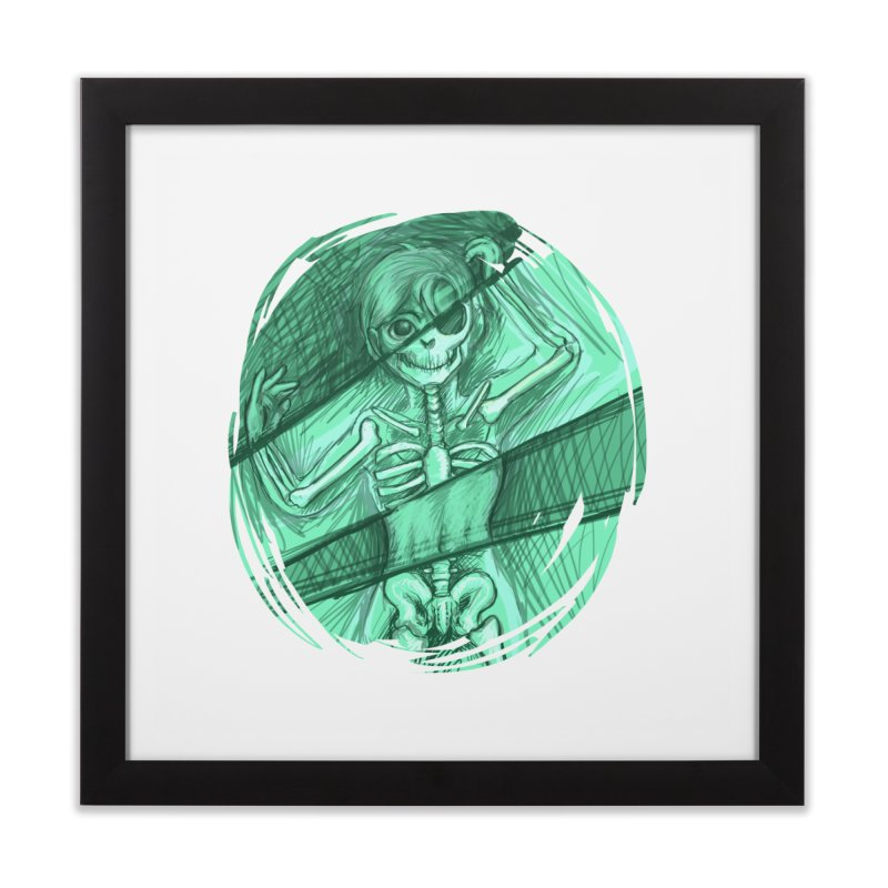 Strange X-ray Home Framed Fine Art Print by nireleetsac's Artist Shop