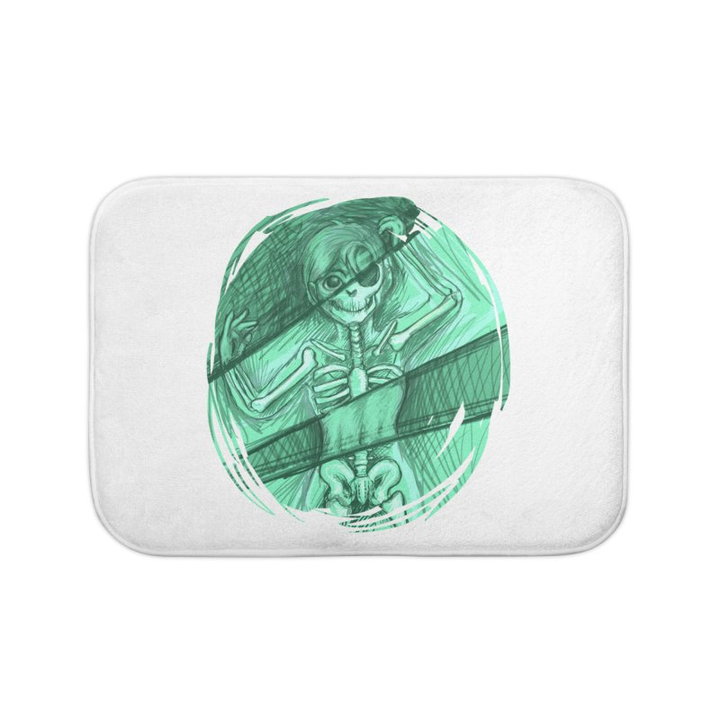Strange X-ray Home Bath Mat by nireleetsac's Artist Shop