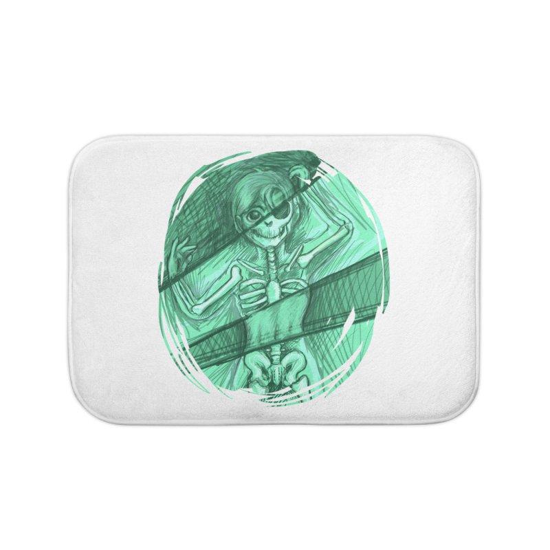 Strange X-ray Home Bath Mat by nireleetsac's Artist Shop