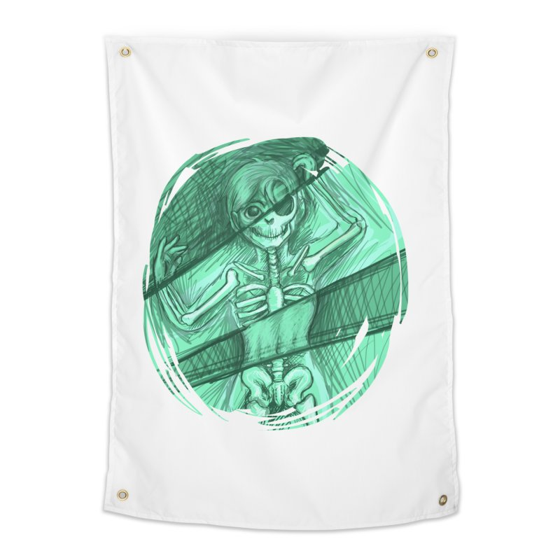 Strange X-ray Home Tapestry by nireleetsac's Artist Shop