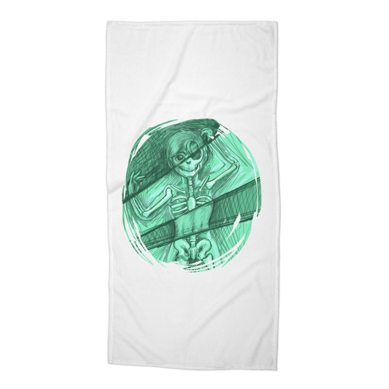 Strange X-ray Accessories Beach Towel by nireleetsac's Artist Shop