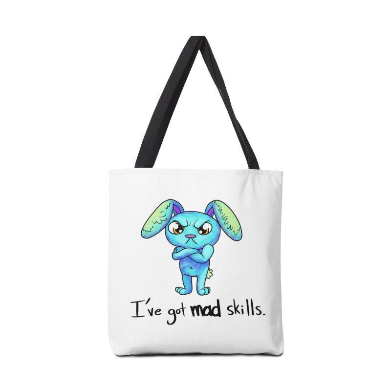 I've got mad skills Accessories Bag by nireleetsac's Artist Shop