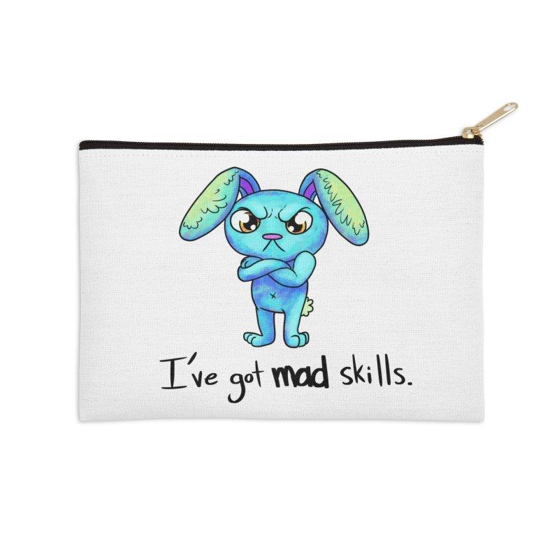I've got mad skills Accessories Zip Pouch by nireleetsac's Artist Shop