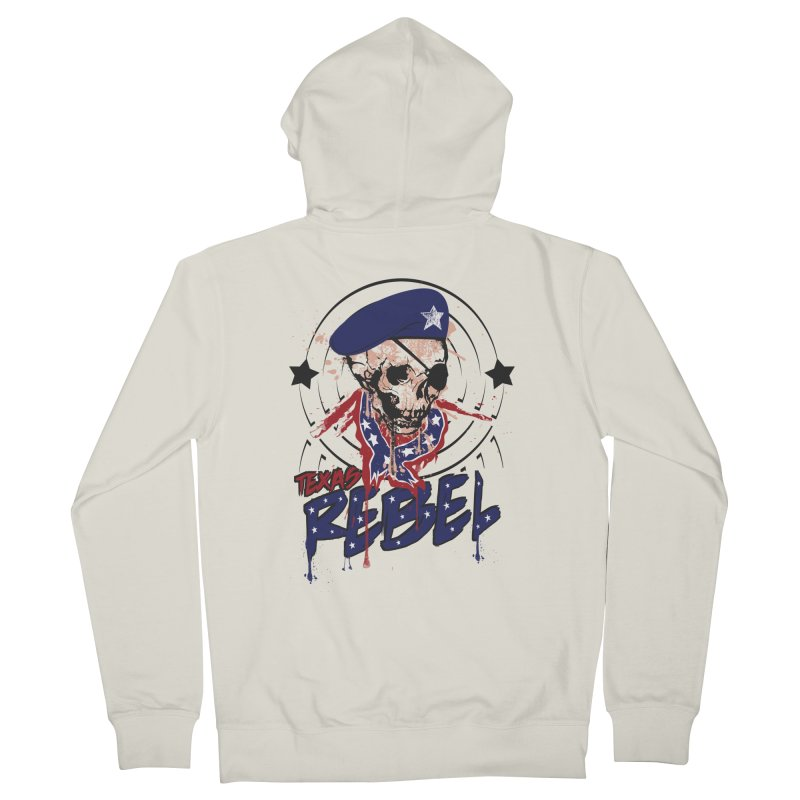 Texas Rebel Women's Zip-Up Hoody by nirmata's Shop