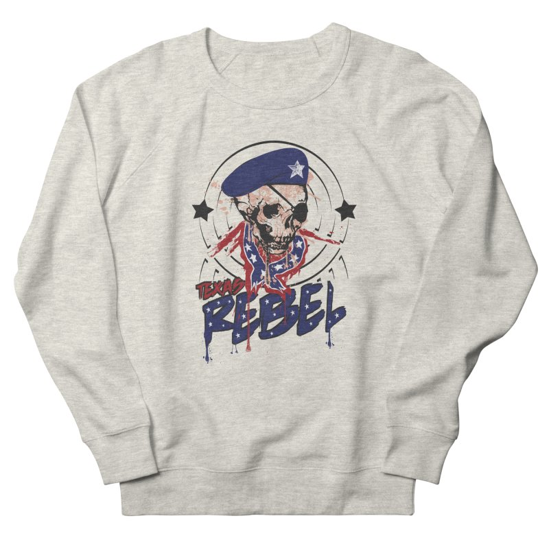 Texas Rebel Men's Sweatshirt by nirmata's Shop