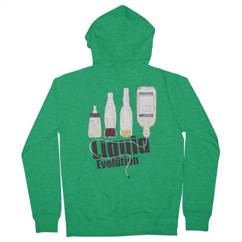 Liquid Evolution Men's Zip-Up Hoody by nirmata's Shop