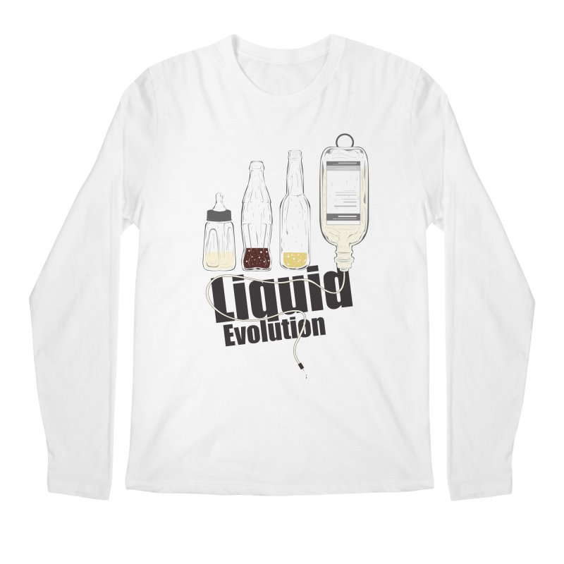 Liquid Evolution Men's Longsleeve T-Shirt by nirmata's Shop